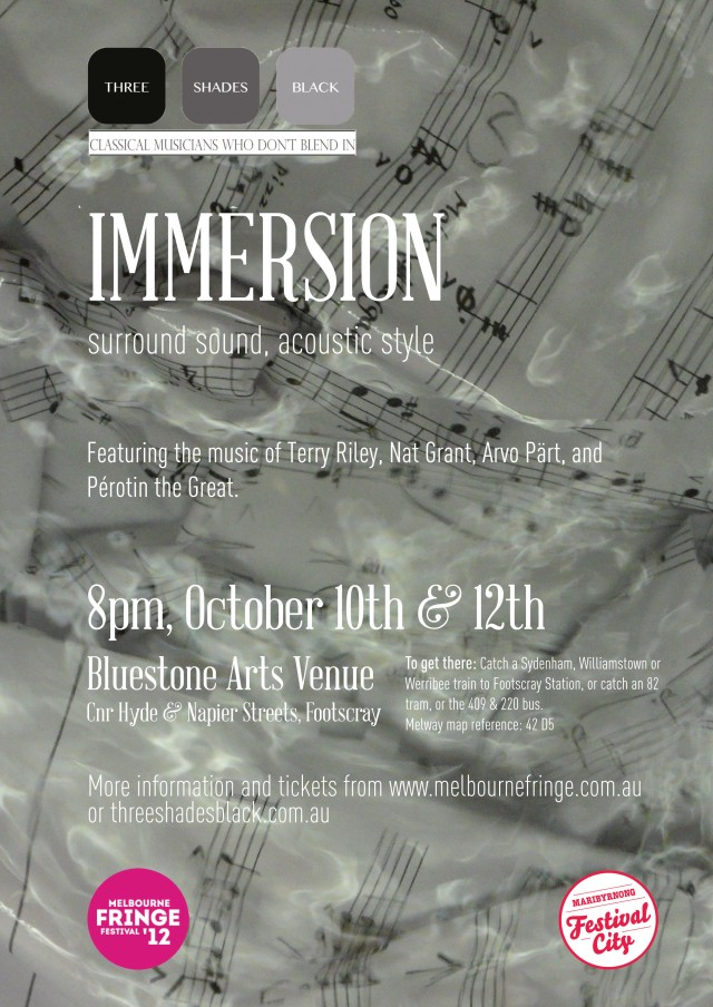 Immersion!