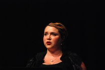 "Anna-Louise singing ""Ad Astra"" by Sally Whitwell"