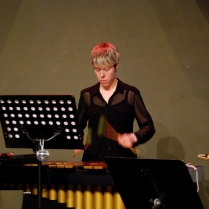 Jenn Morrish on Vibraphone