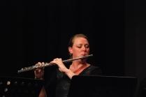 Laila Engle on flutes