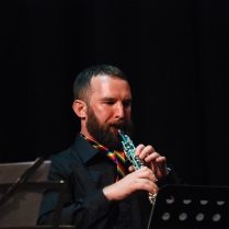 Ben Opie wowing on the oboe.