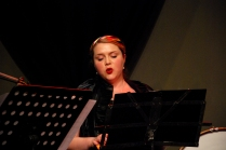 "Anna-Louise Cole performing ""Hat weaving fine"" by Naima Fine."